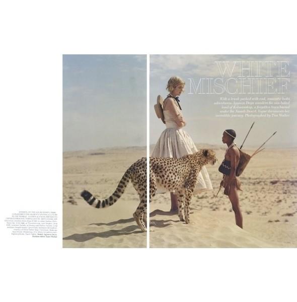 Изображение 35. Съемки: Harper's Bazaar, Marie Claire, Vogue и W.. Изображение № 35.