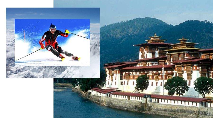 Зимние виды спорта, природа Гималаев, страна Бутан. Изображение № 25.