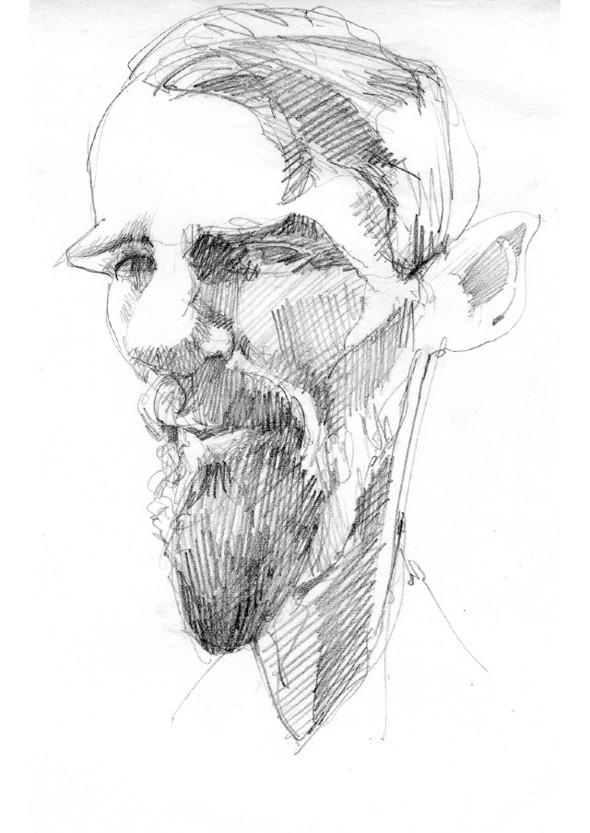 Карикатуры на писателей. Изображение № 3.