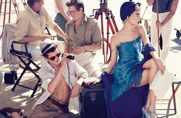 Съёмки: Elle, i-D и Vogue. Изображение № 18.