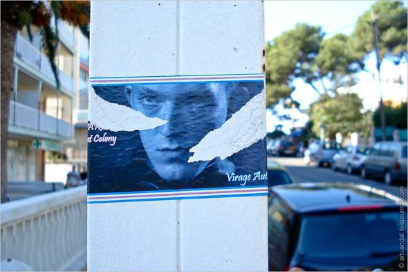 Граффити и стикеры Салоу, Испания. Изображение № 9.