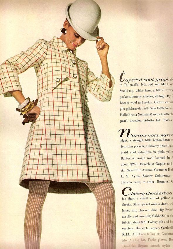 «Выгляди великолепно» каквVogue 1967 года. Изображение № 5.
