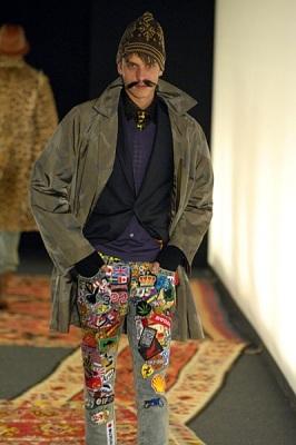 Milan Fashion week Летаргия Ferre и«таджикский гламур. Изображение № 12.