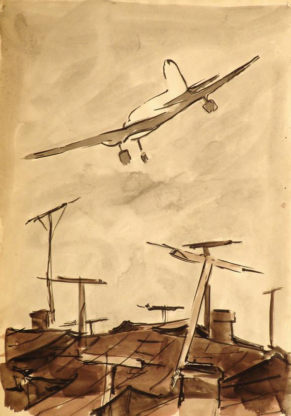 Леонид Сойфертис. рисунок, карикатура. Изображение № 1.