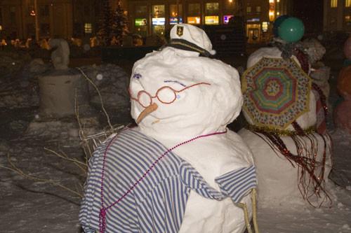 Мужичок - Снеговичек. Изображение № 4.