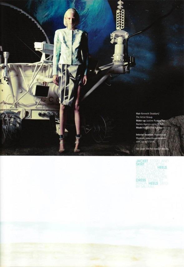 Космос рядом: модные съемки к выходу фильма «Прометей». Изображение №1.