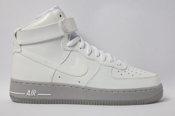 AIR FORCE 1 PREMIUM (GREY ICE). Изображение № 5.