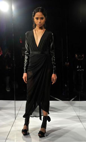 Lublu Kira Plastinina FW 2011 на показе на Нью-Йоркской неделе моды. Изображение № 23.