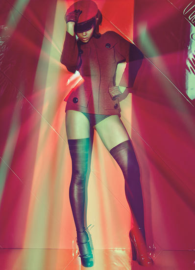 Изображение 53. Съёмки: Harper's Bazaar, Vogue, W и другие.. Изображение № 52.