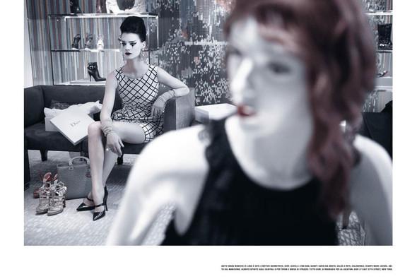 Съёмка: Кверелле Янсен для Vogue. Изображение № 6.