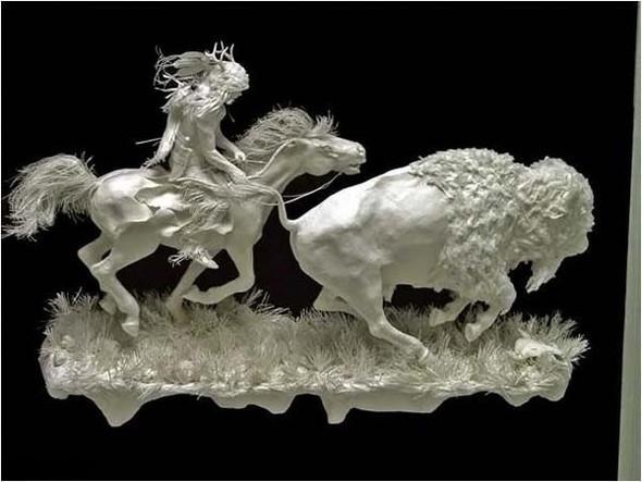 Бумажные скульптуры. Изображение № 10.