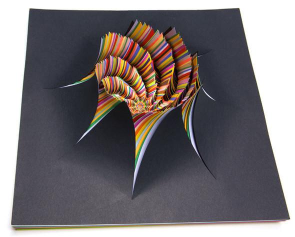 Абстракция из цветной бумаги. Изображение № 17.