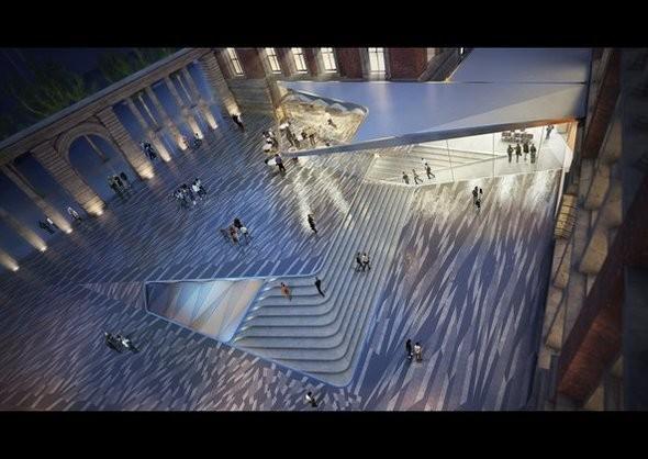 Музей Виктории и Альберта: новый архитектурный проект. Изображение № 5.