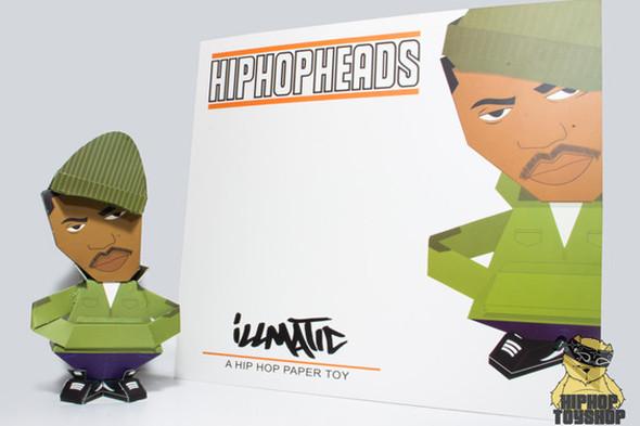 HIPHOPHEADS: Бумажные игрушки. Изображение № 3.