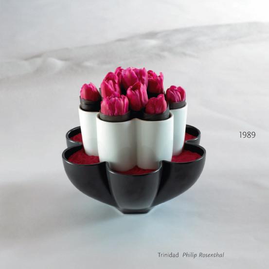 Ваза/чаша Trinidad, 1989, Philip Rosenthal. Изображение № 27.