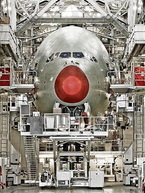 Фото: как собирают самолёты Airbus. Изображение № 3.