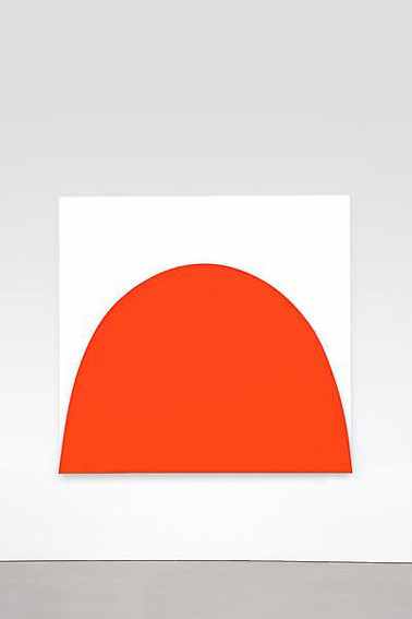 Ellsworth Kelly Red Curve Relief. Изображение № 4.