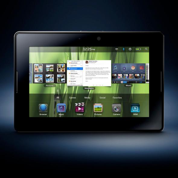 Blackberry PlayBook померится силой с iPad. Изображение № 1.