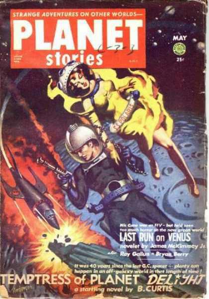 Космические обложки Pulp-журналов. Изображение № 13.