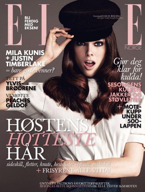 Обложки октября: Elle, Marie Claire, Interview и другие. Изображение № 4.