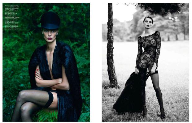 Новые съемки Dazed & Confused, Vogue, i-D и W Magazine. Изображение № 32.