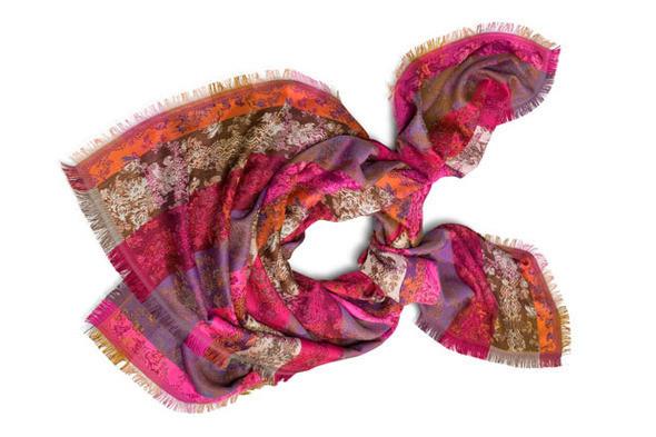 Изображение 4. Kenzo выпускают юбилейную коллекцию шарфов.. Изображение № 7.