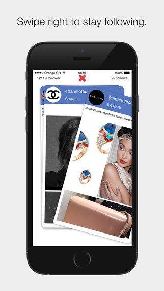 Появилось приложение для расчистки ленты Instagram свайпами. Изображение № 2.