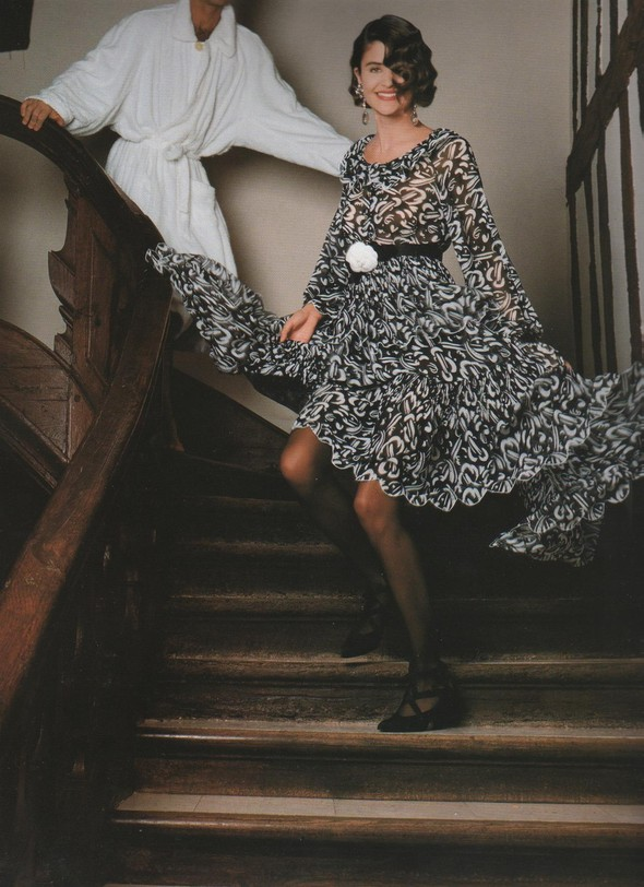 Архивная съёмка: Рекламная кампания Chanel SS 1990. Изображение № 8.