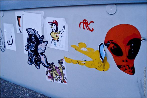 Стрит-арт и граффити Риги. Изображение № 20.