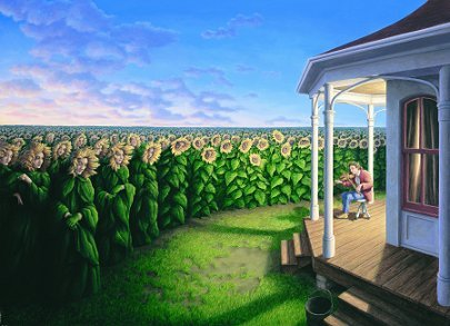 Amazing pictures by Rob Gonsalves. Изображение № 4.