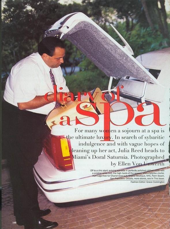 """Diary ofa Spa"". Vogue'94. Изображение № 1."
