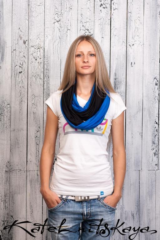 Осенняя коллекция ярких шарфов-снудов. Изображение № 8.