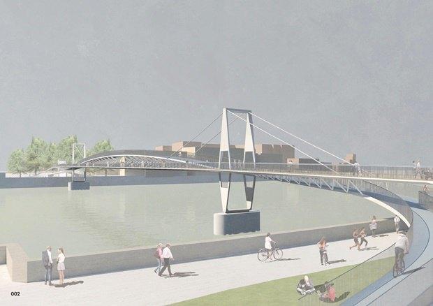Выложены 74 проекта нового моста через Темзу. Изображение № 8.