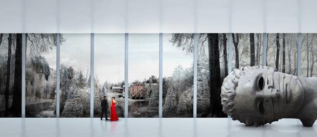 Архитектура дня: «перекрученный» музей авторства BIG под Осло. Изображение № 10.