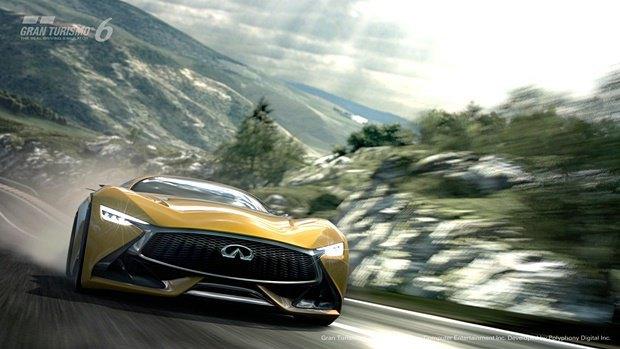 Концепт: суперкар Infiniti для игры Gran Turismo. Изображение № 41.