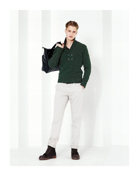 Лукбук: United Colors of Benetton Fall 2011 Menswear. Изображение № 9.