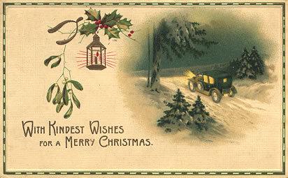 Новогодняя ирождественская открытка. Изображение № 6.