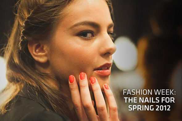Fashion week: The nails for spring 2012. Изображение № 32.