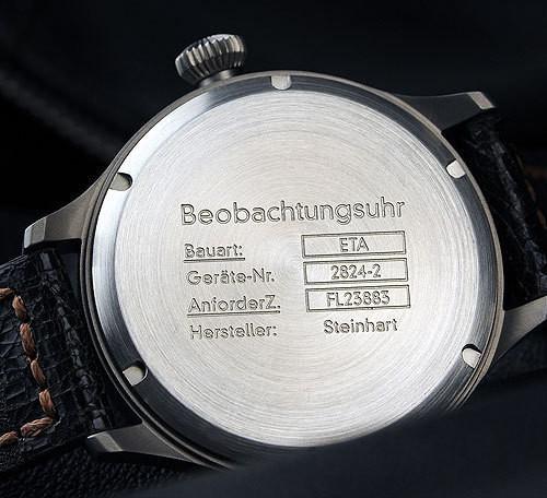 Steinhart Nav.B-Uhr vintage TITANIUM. 420 EUR (19% VAT incl.). Изображение № 35.