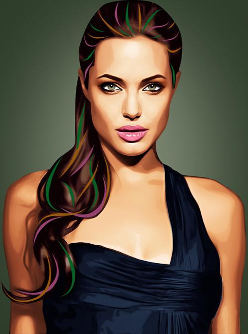 Три грации. Первая – Анджелина Джоли.  . Изображение № 4.