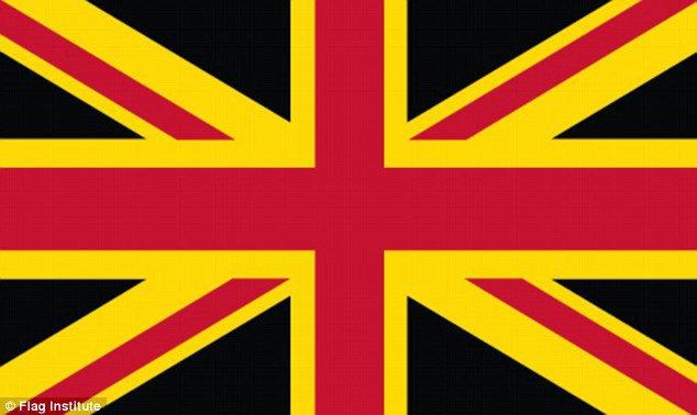 Financial Times предложила свою версию флага Великобритании. Изображение № 6.