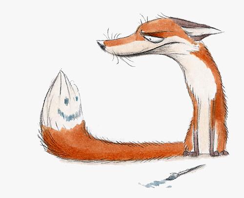 Забавные иллюстрации из жизни лисиц от Skia. Изображение № 8.