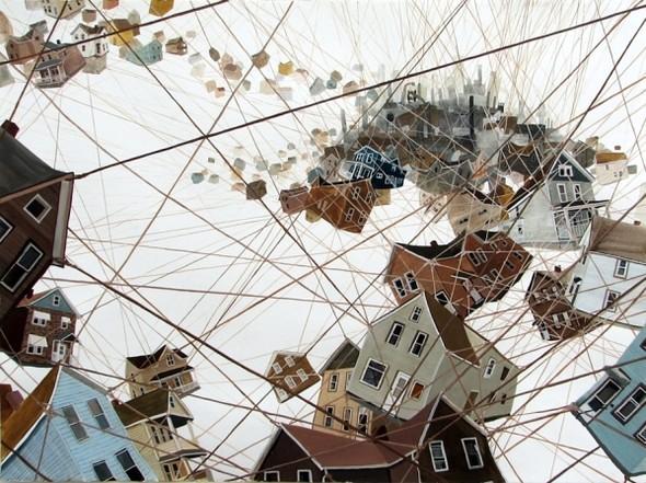 Города сточки зрения иллюстратора ЭмиКэйси. Изображение № 8.