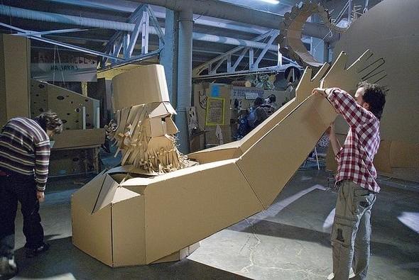 IV конкурс картонной архитектуры, дизайна и скульптуры «ГОСЗАКАЗ». Изображение №1.