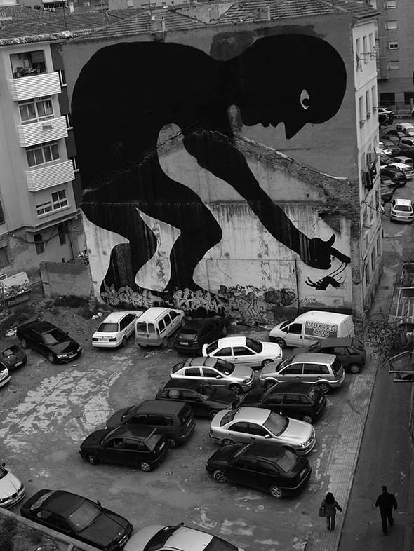 Большая коллекция уличного искусства. Изображение № 5.