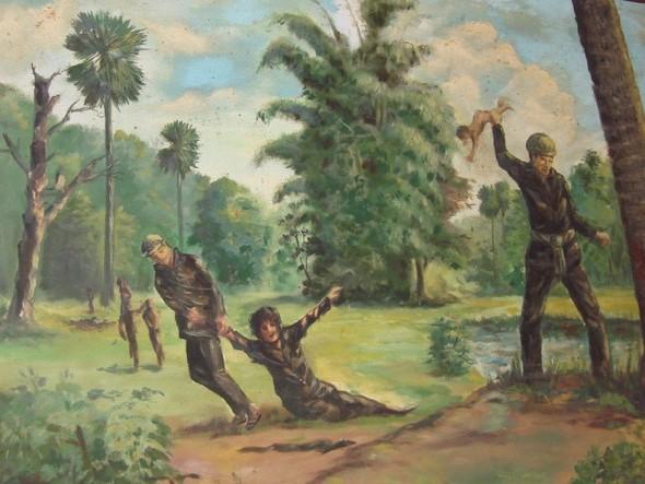 Кхмерский художник Vann Nath. Изображение № 7.