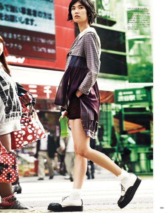 Съёмка: Тао Окамото для Vogue. Изображение № 5.