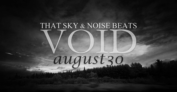 30 августа новый альбом THAT SKY & NOISE BEATS - VOID. Изображение № 1.