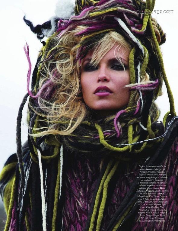 Съёмка: Наташа Поли для французского Vogue. Изображение № 6.