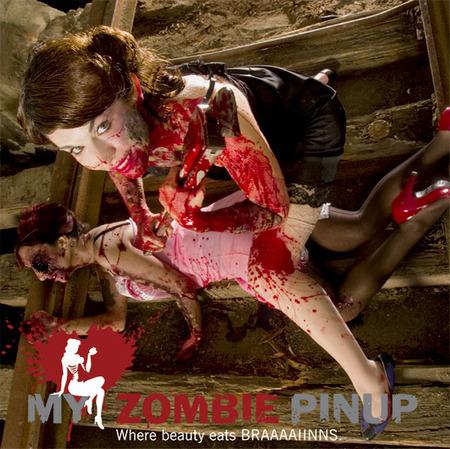 MyZombie PinUp календарь недля слабонервных. Изображение № 10.